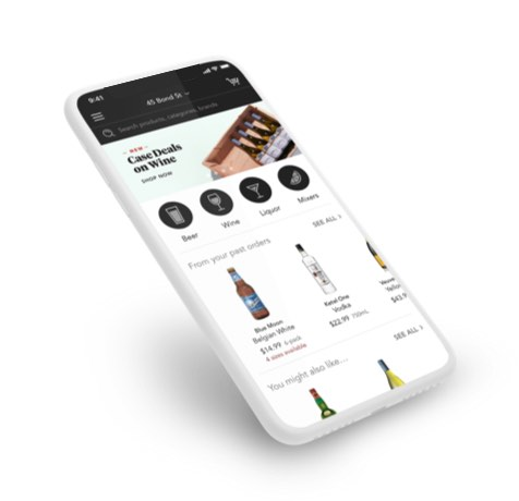 Download the Minibar Delivery App